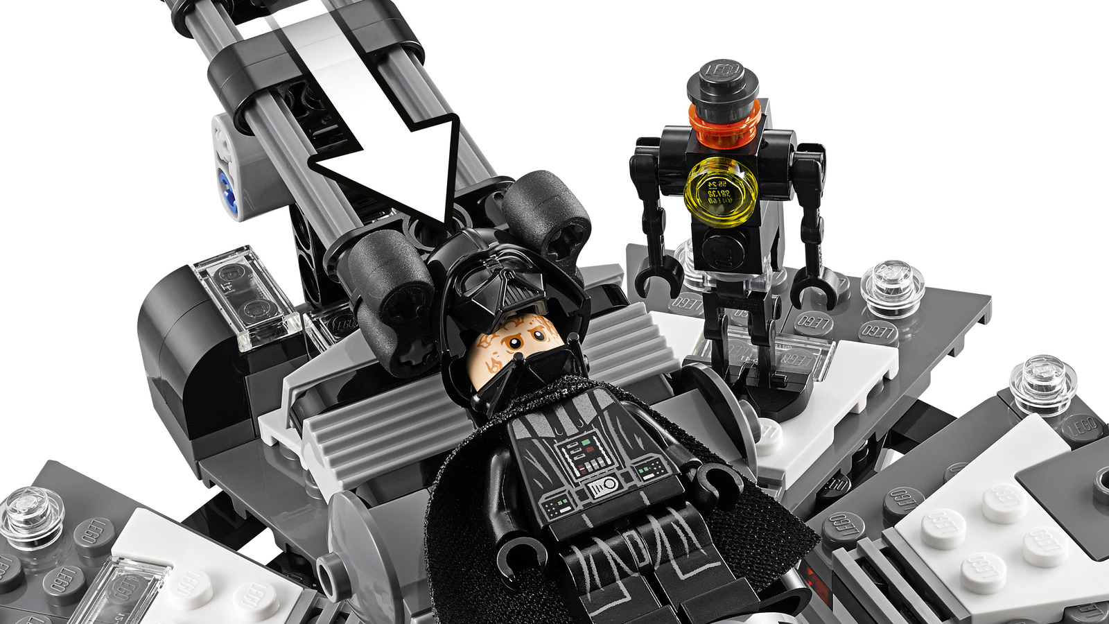 LEGO Star Wars: Darth Vader Transformation (75183) image