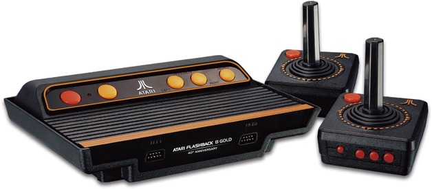 Atari Flashback 8 Gold HD Game Console for