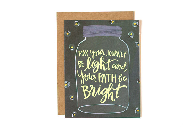One Canoe Two: Bright Path - Greeting Card