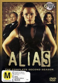 Alias - Complete Season 2 (6 Disc Slimline Set) on DVD image