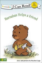Barnabas Helps a Friend by Royden Lepp image