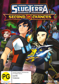 SlugTerra: Second Chances on DVD