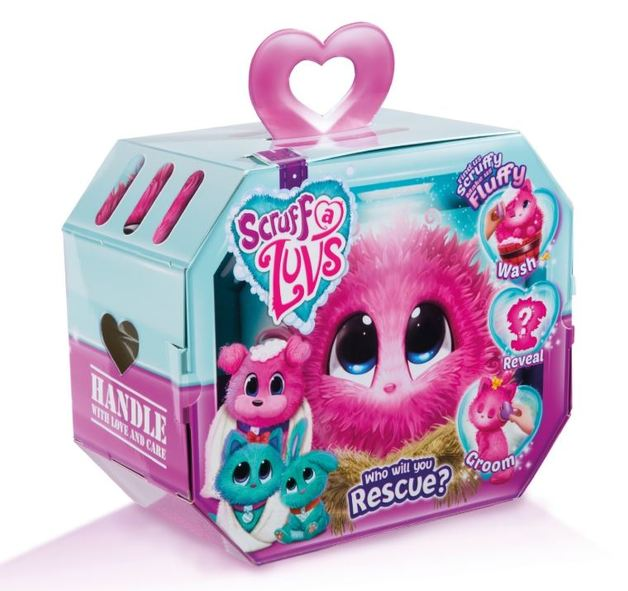 Scruff A Luvs Surprise Plush - Pink