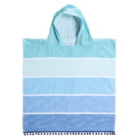 Sunnylife: Kids Hooded Fouta Towel - Caribbean