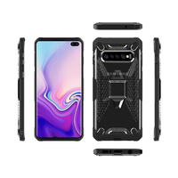 Miesherk: YY phone case for Samsung S10 - Grey+Black image