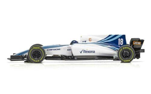 Scalextric: F1: 2018 Williams Stroll - Slot Car