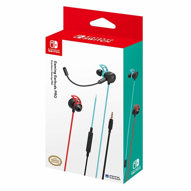 HORI Gaming Earbuds Pro with Mixer for Nintendo Switch for Switch