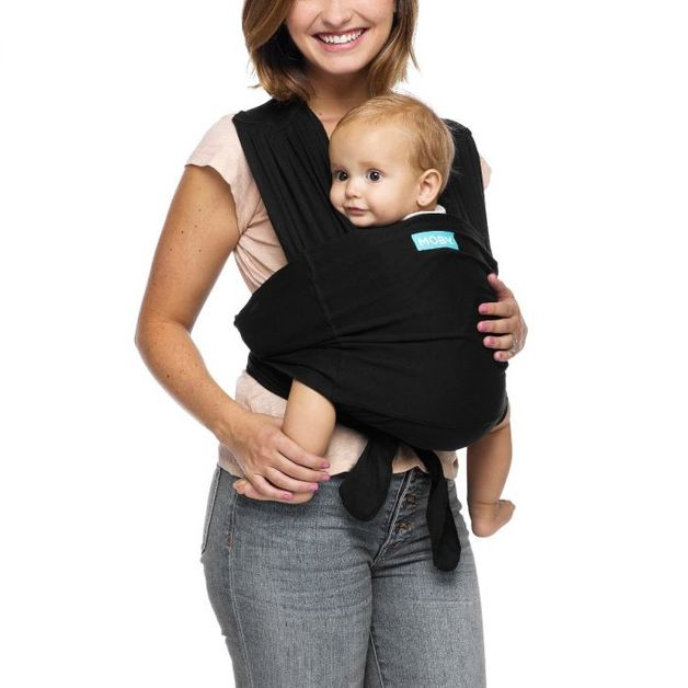 Moby Fit Baby Carrier - Black