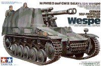 "Tamiya German Self-Propelled Howitzer ""Wespe"" 1/35 Model Kit"