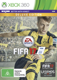 FIFA 17 Deluxe Edition for Xbox 360