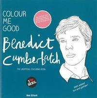 Colour Me Good Benedict Cumberbatch by Mel Elliott