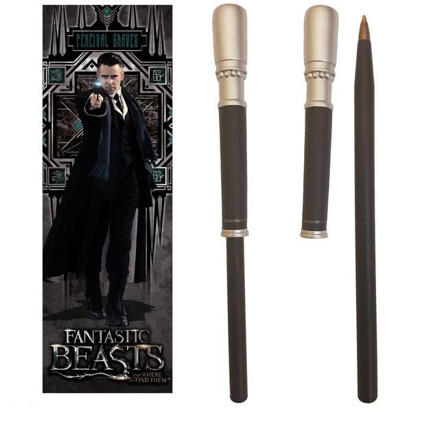 Fantastic Beasts: Pen & Bookmark Set - Percival Graves