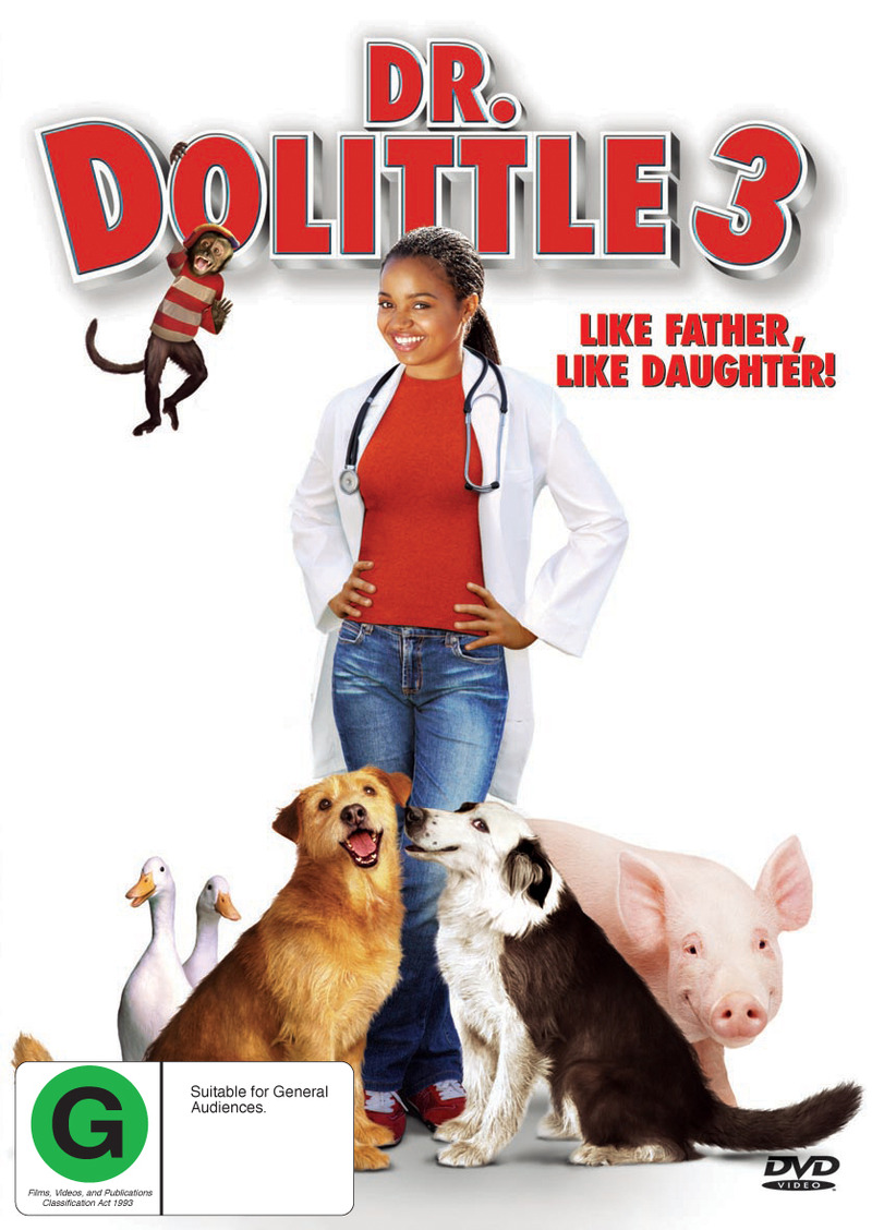 Dr Dolittle 3 on DVD image