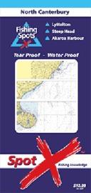 Spot X North Canterbury Chart: Fishing Spots by X Spot