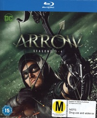 Arrow: The Complete Seasons 1-4 on Blu-ray