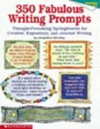 Thought-Provoking Springboards for Creative, Expository, and Journal Writing by Jacqueline Sweeney image