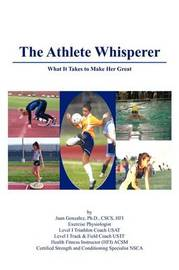 The Athlete Whisperer by Ph.D CSCS HFI Juan Gonzalez image