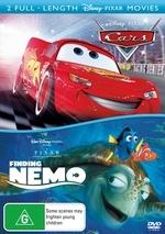 Cars / Finding Nemo (2 Disc Set) on DVD