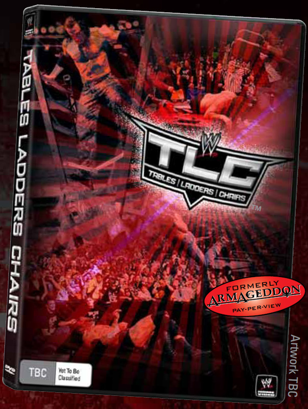 WWE TLC: Tables, Ladders & Chairs 2009 on DVD