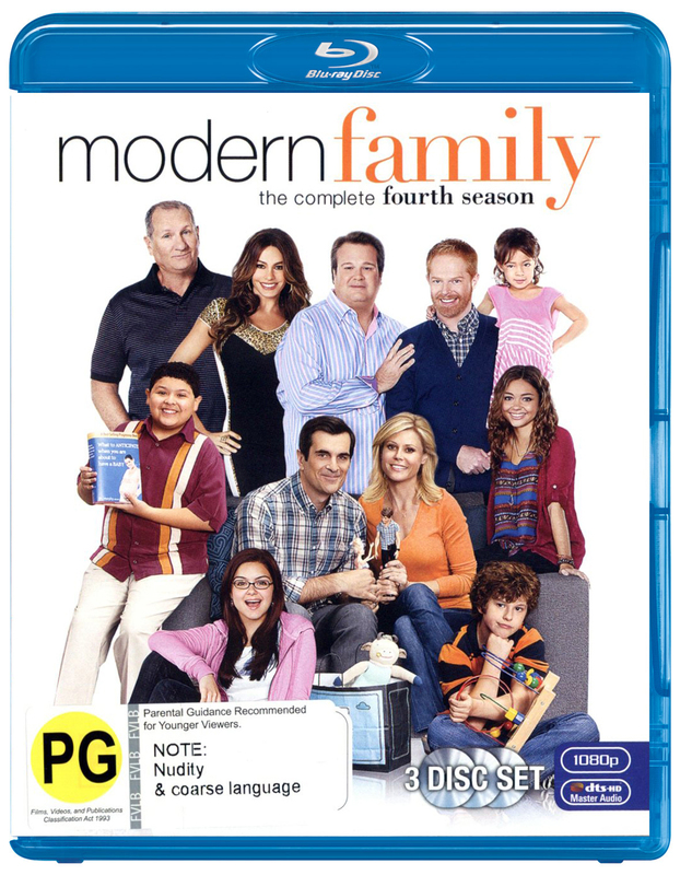 Modern Family - The Complete Fourth Season on Blu-ray