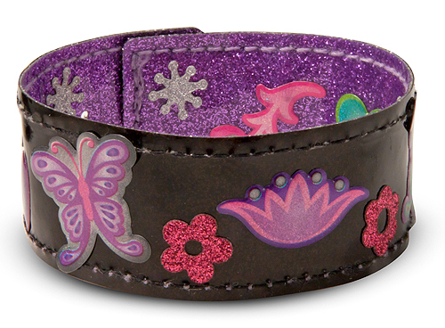 Melissa & Doug: Make-Your Own Bracelets Fashion Craft Set image