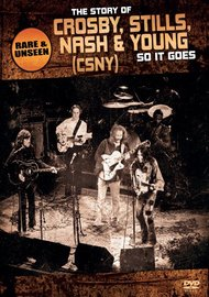 Crosby, Stills, Nash & Young - So It Goes: The Story Of on DVD