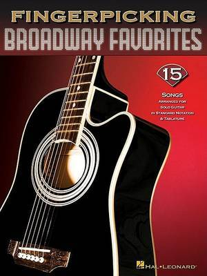 Fingerpicking Broadway Favorites by Hal Leonard Publishing Corporation image