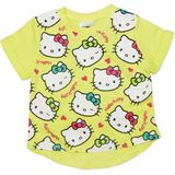 Hello Kitty Yellow T-Shirt (Size 4)