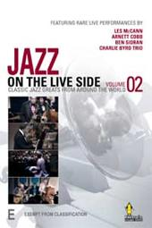 Jazz On The Live Side - Vol 02 on DVD