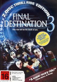 Final Destination 3 - Thrill Ride Edition (2 Disc Set) on DVD image