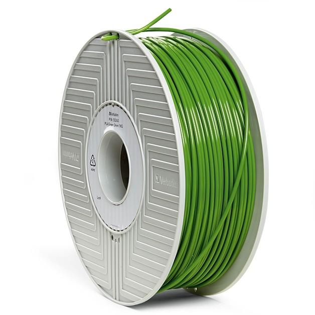 Verbatim 3D Printer PLA 3.00mm Filament - 1kg Reel (Green)