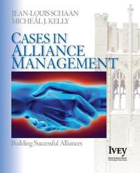 Cases in Alliance Management by Jean-Louis Schaan image