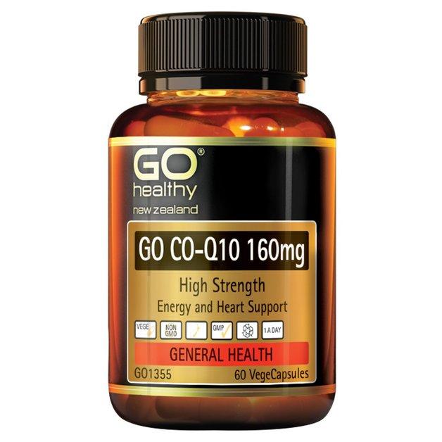 GO Healthy - GO CO-Q10 160mg (60 Vegecaps)