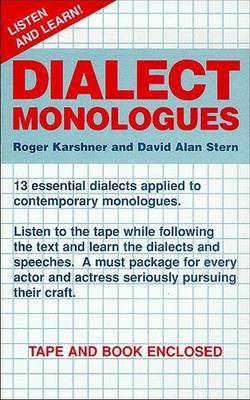 Dialect Monologues: v.1 image
