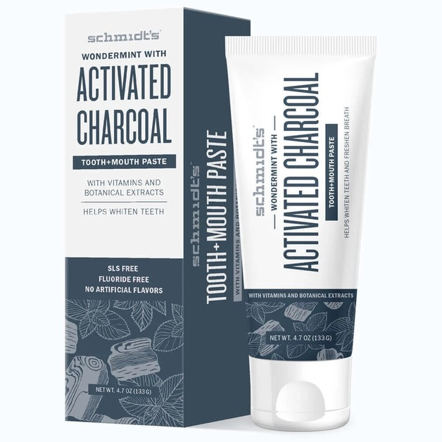 Schmidt's Toothpaste - Activated Charcoal (133g)