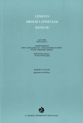 Lexicon Mediae Latinitatis Danicae by Franz Blatt image