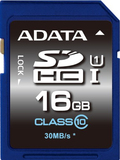16GB ADATA Premier - SDHC Card (Class 10 UHS-I )