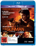 The Gunman on Blu-ray