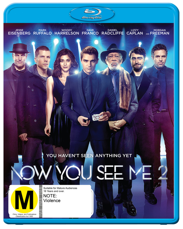 Now You See Me 2 on Blu-ray