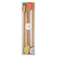Meri Meri - Fruit Swizzle Sticks (12 Pack)