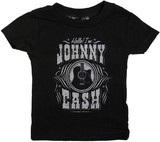 Sourpuss Hello Johnny Cash Kids T-Shirt (5T)