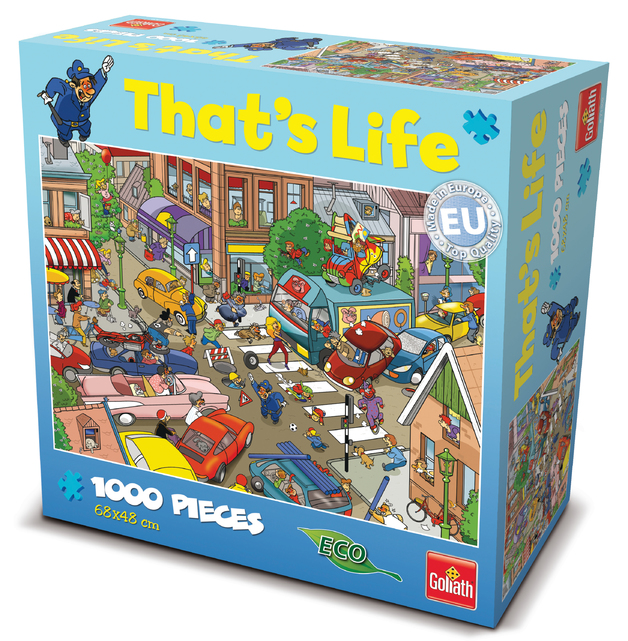 That's Life 1,000 Piece Jigsaw (Traffic)