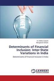 Determinants of Financial Inclusion by Chithra Subash N