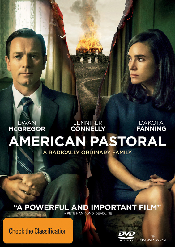 American Pastoral on DVD