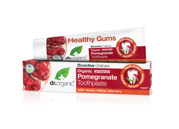 Dr. Organic - Pomegranate Toothpaste (100ml)