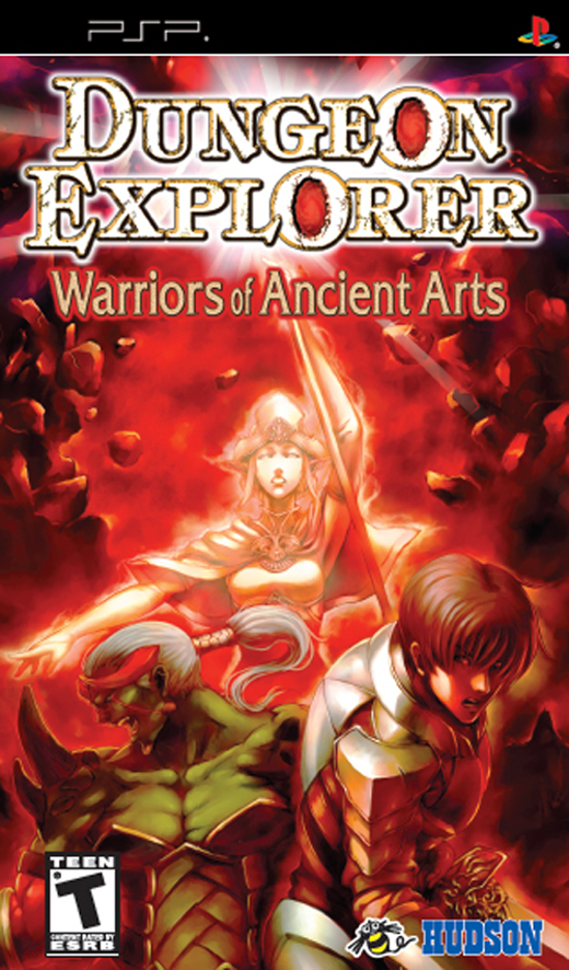 Dungeon Explorer: Warriors of Ancient Arts for PSP image