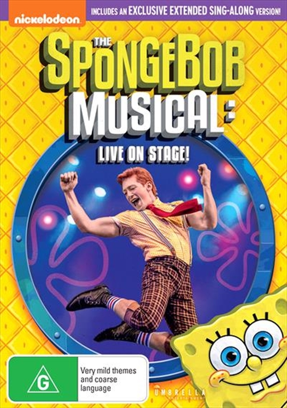 The Spongebob Musical: Live On Stage! on DVD