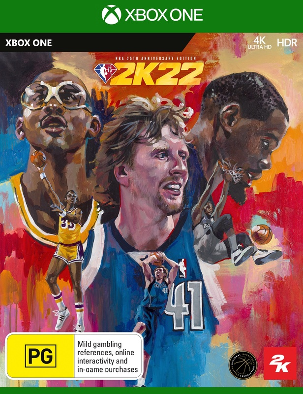 NBA 2K22 75th Anniversary Edition for Xbox One