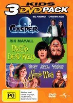 Casper / Drop Dead Fred / Simple Wish - Kids Collection (3 Disc Set) on DVD