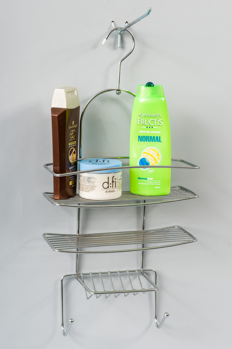 L.T. Williams - 3 Tier Chrome Shower Caddy image